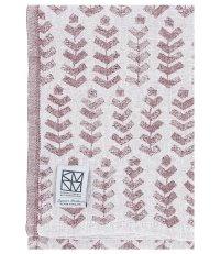 Lniany ręcznik kąpielowy RUUSU X HVITTRÄSK Lapuan Kankurit -  95 x 180 cm, bordowy