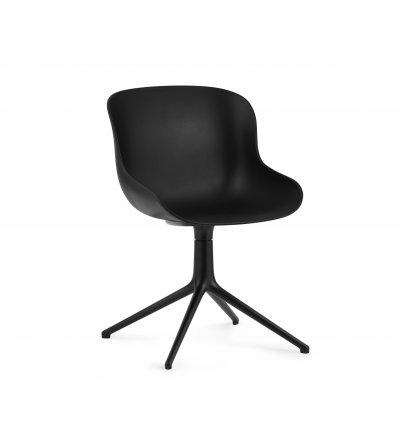 Krzesło HYG CHAIR SWIVEL 4L Alu Black Normann Copenhagen - różne kolory, czarna podstawa