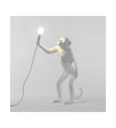 Lampa zewnętrzna Monkey Seletti - wersja stojąca, na zewnątrz