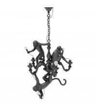 Żyrandol Monkey Seletti - czarny, do wnętrza