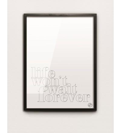 Plakat FOREVER MM House Design - różne rozmiary