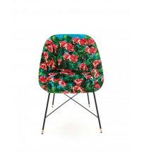Krzesło tapicerowane Seletti - wzór Roses