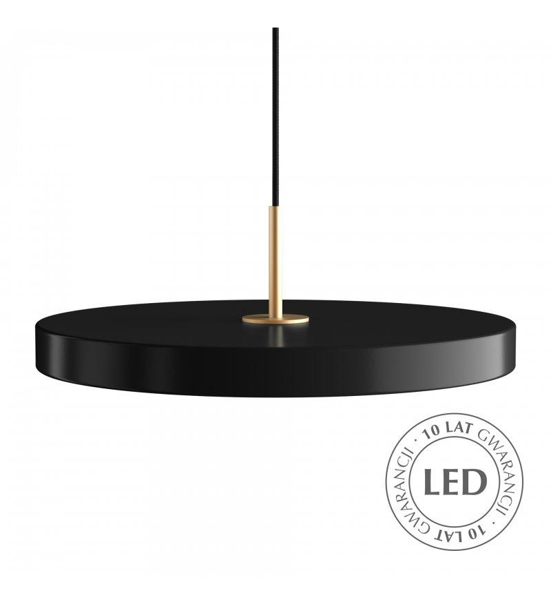 Lampa Asteria black UMAGE - czarna