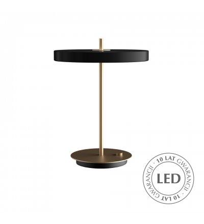 Lampa Asteria Table black UMAGE - czarna