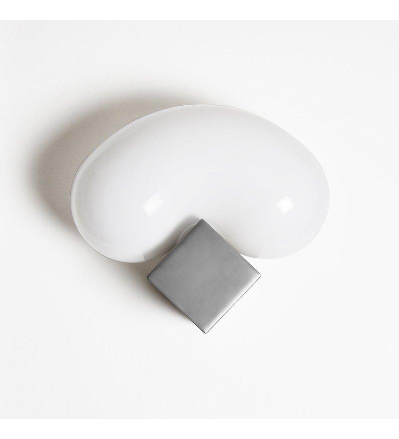 Kinkiet Beluga ENOstudio - srebrny