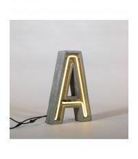 Lampa neonowa Alphacrete Seletti - do wyboru 26 liter