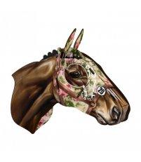 Dekoracja ścienna Koń wyścigowy Fleur de Nuit MIHO