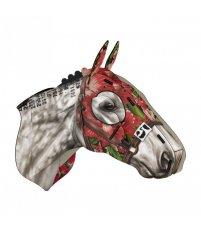 Dekoracja ścienna Koń wyścigowy White Charmer MIHO