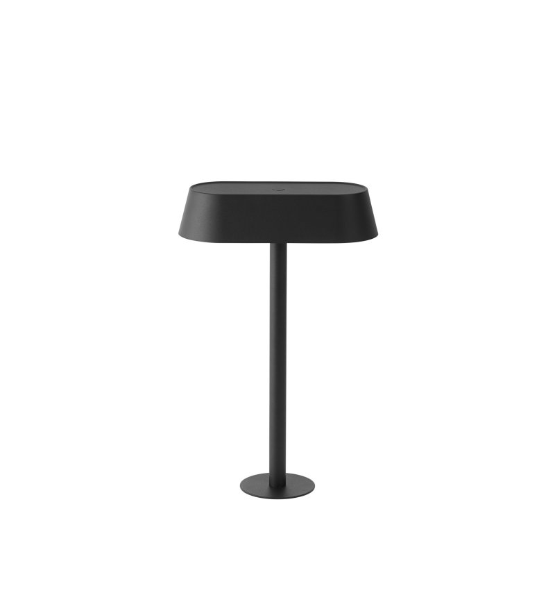 Lampa biurkowa Linear Mounted Lamp Muuto - do montażu, 23,2 cm, czarna
