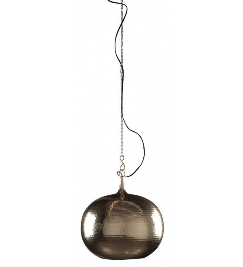Lampa wisząca Hammered Round Zuiver - mosiądz