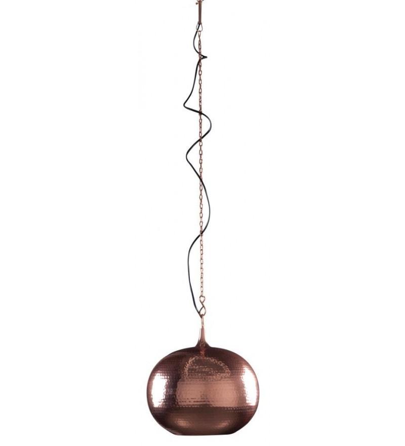 Lampa wisząca Hammered Round Zuiver - miedź