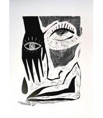 Linoryt 'Perun' dudek brand. - edycja limitowana, 50 x 70 cm