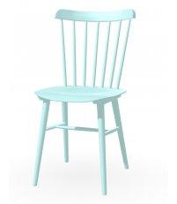 OUTLET Krzesło Ironica TON - buk, pigment aqua green (B 45)