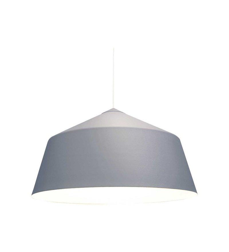 OUTLET Lampa wisząca Circus L Innermost - szara / białe wnętrze