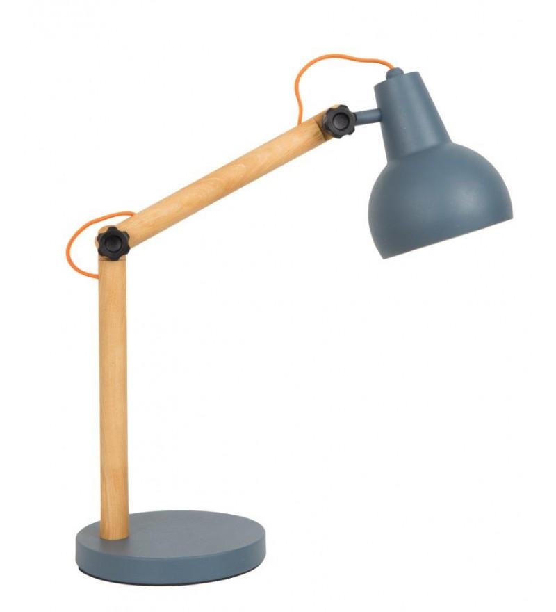 Lampa stołowa STUDY szara Zuiver