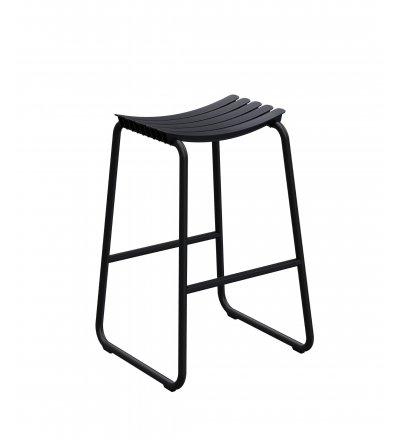 Hoker ReCLIPS Bar stool HOUE - czarny, na zewnątrz
