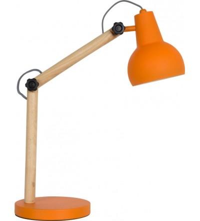 Lampa stołowa STUDY pomarańczowa Zuiver