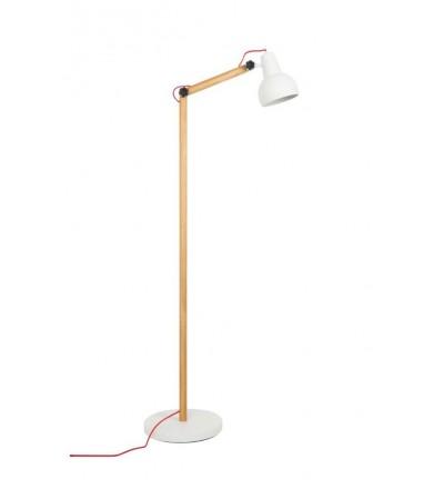 Lampa podłogowa STUDY biała Zuiver