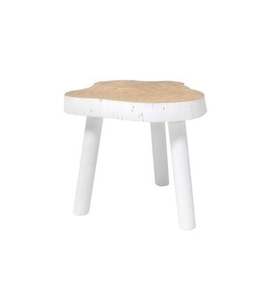 Stolik w kształcie pnia drewna HK Living