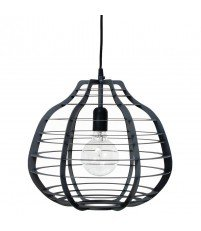 Lampa Lab XL czarna HK Living