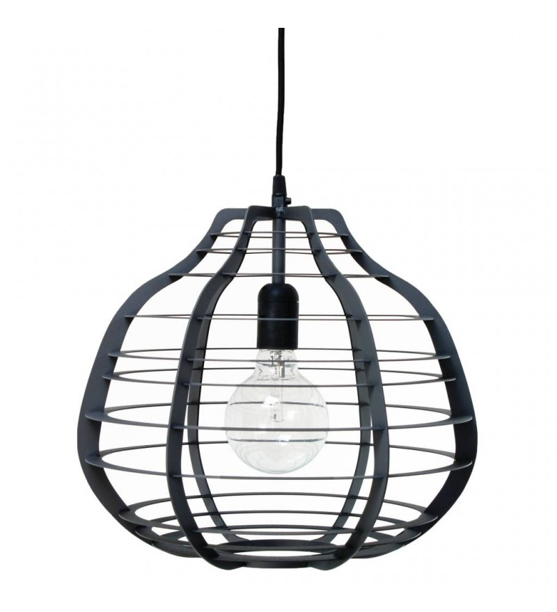 Lampa Lab XL czarna HK Living