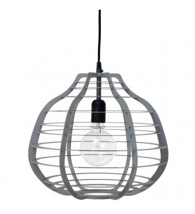 Lampa Lab XL matowa szara HK Living