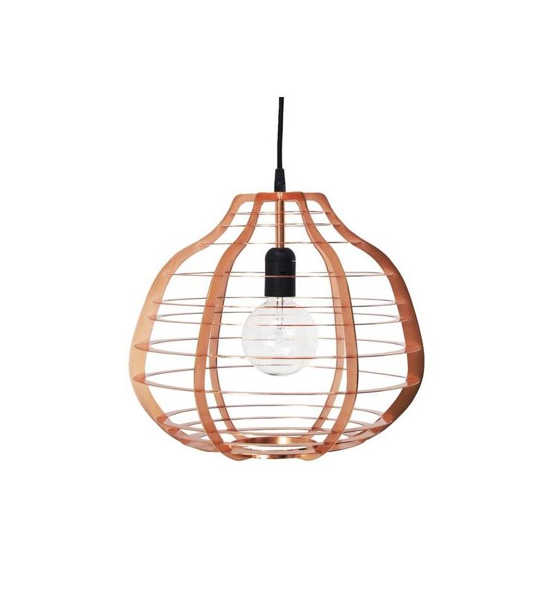 Lampa Lab XL miedziana HK Living