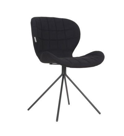Krzesło OMG czarne Zuiver
