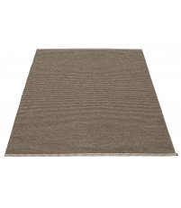 Dywan MONO Pappelina - dark brown / dark linen / 230x320cm