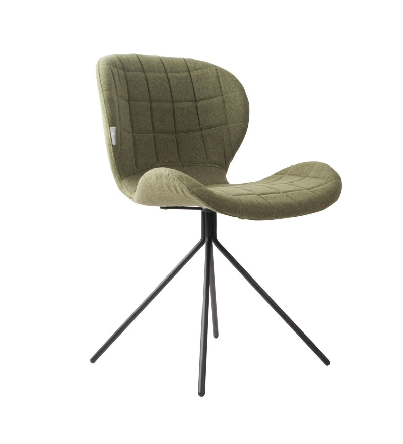 Krzesło OMG zielone Zuiver