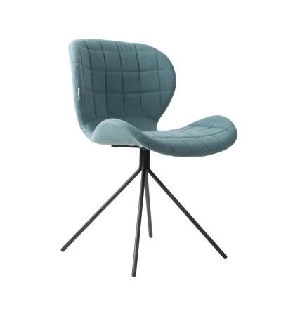 Fotel OMG niebieski Zuiver