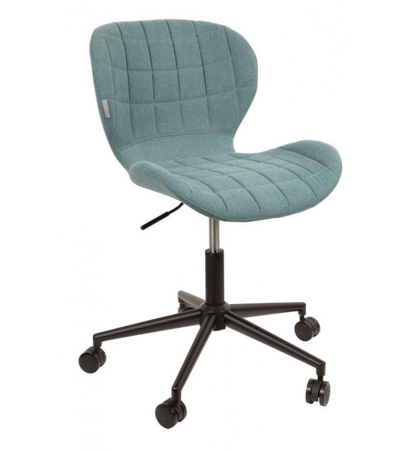 Krzesło biurowe OMG niebieski Zuiver