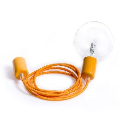 Lampa Loft Metal Line Kolorowe Kable - karaibski grejpfrut
