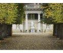 Stolik kawowy ALLEZ 4L Normann Copenhagen - na 4 nogach, blat ze stali nierdzewnej 70x70cm, na zewnątrz