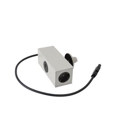 Gniazdo zasilania Linear System Table Power Outlet Muuto - szare