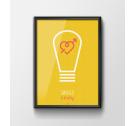 Plakat 'Światłoczuły' - różne wielkości