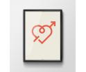 Plakat 'Love' - różne wielkości