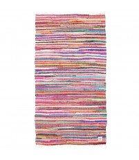 Dywan pleciony z kawałków tkanin Storebror 90x175 cm