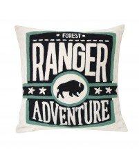 Wyszywana poduszka Ranger Storebror - 50x50 cm