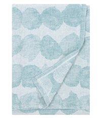 Lniany ręcznik kąpielowy SADE Lapuan Kankurit -  95 x 180 cm, turkusowy