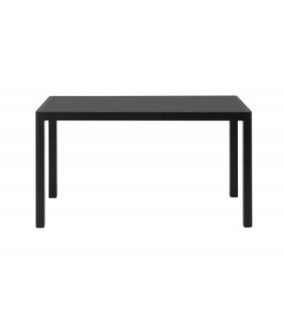Stół WORKSHOP MUUTO - 130x65 cm, black linoleum/black
