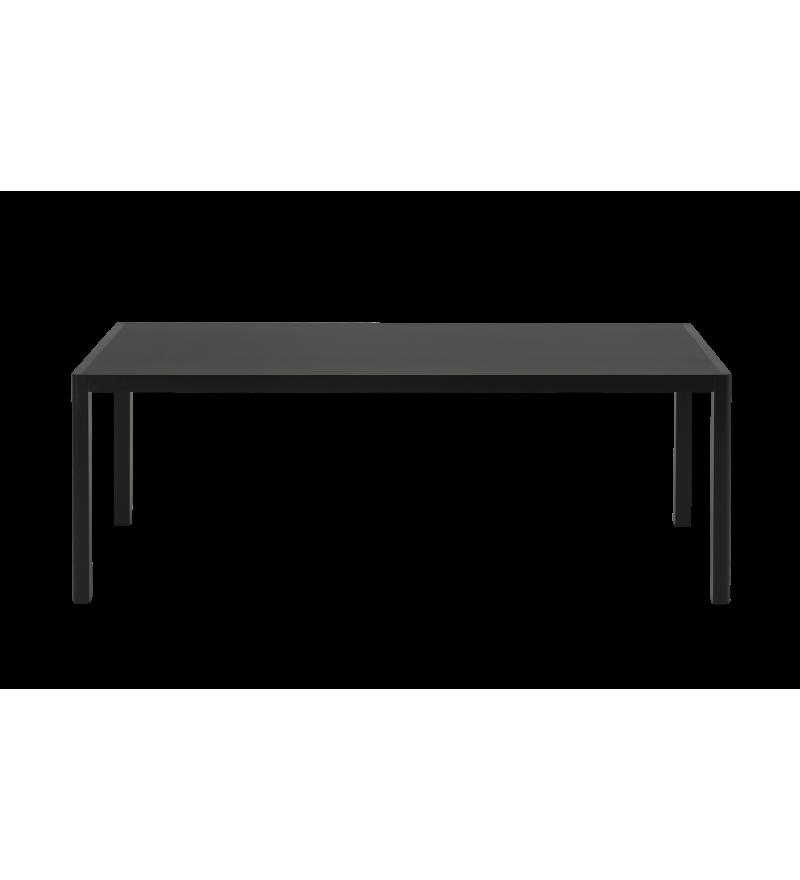 Stół WORKSHOP MUUTO - 200x92 cm, black linoleum/black