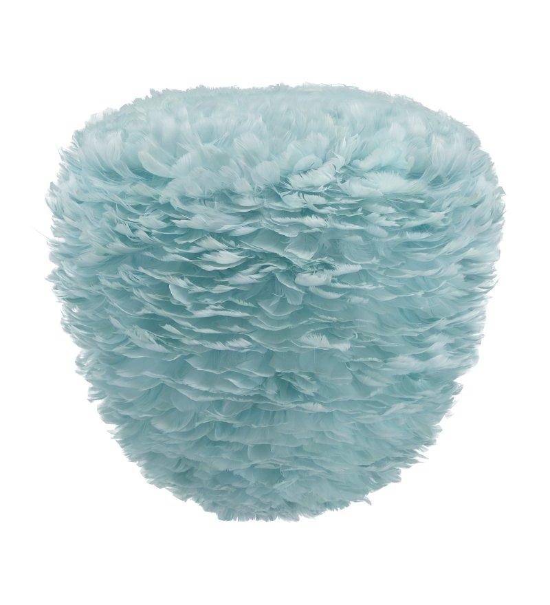 Lampa z piór Eos Evia Large light blue UMAGE - jasnoniebieska, średnica 55 cm