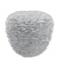 Lampa z piór Eos Evia Large light grey UMAGE - jasnoszara, średnica 55 cm