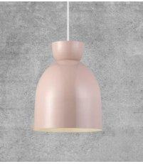 OUTLET Lampa wisząca Circus Nordlux - różowa / białe wnętrze