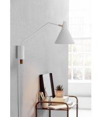 OUTLET Kinkiet Brassy Nordlux Design For The People - biały