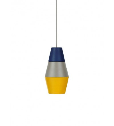 Lampa NIGHTY NIGHT kolekcja ILI ILI - niebiesko-szaro-żółta