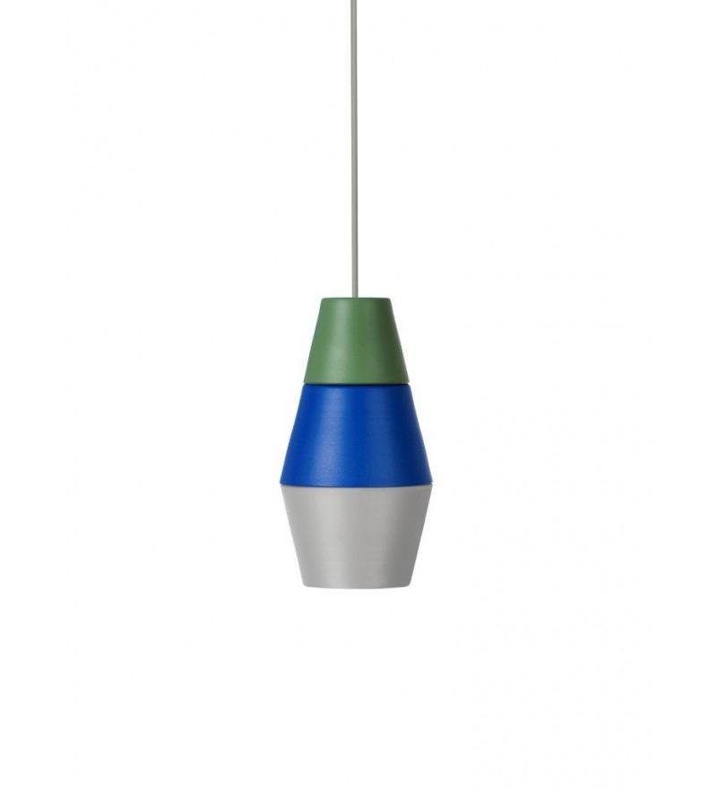 Lampa NIGHTY NIGHT kolekcja ILI ILI - zielono-niebiesko-szara