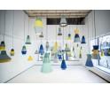 Lampa CAT'S HAT kolekcja ILI ILI - zielono-niebiesko-szara