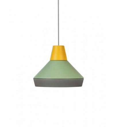 Lampa CAT'S HAT kolekcja ILI ILI - żółto-zielono-szary